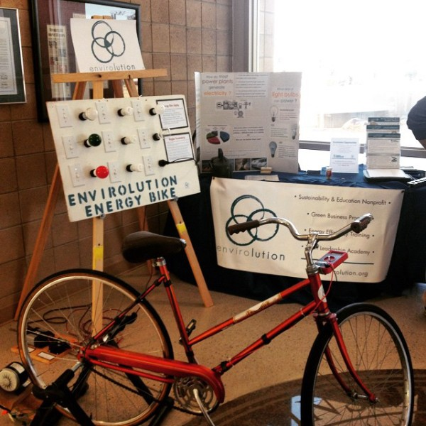 Envirolution's Energy Bike