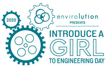 Introduce a Girl to Engineering Day Logo